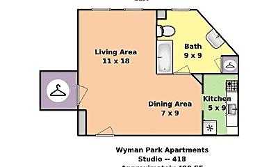 Building, 3925 Beech Ave, 1