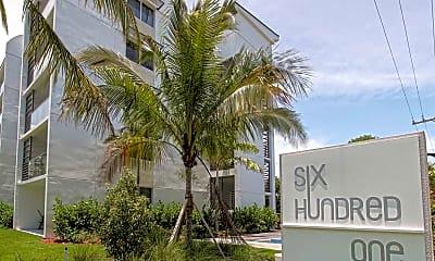 Community Signage, Ocean 601 Apartments, 2