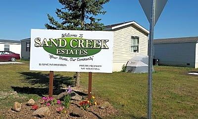 Community Signage, Sand Creek Estates, 0