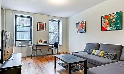 Living Room, 306 E 83rd St 5-B, 0