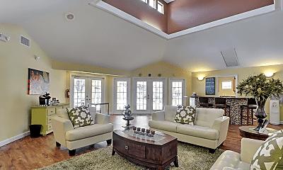 Living Room, Eldorado Apartments, 1