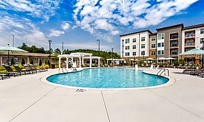 Pool, Flats at 540, 0