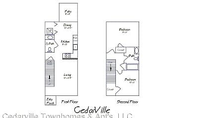 Kitchen, 2912 Cedarville Dr, 2