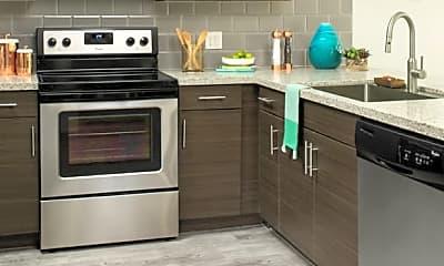 Kitchen, Griffis 3100 Pearl, 1
