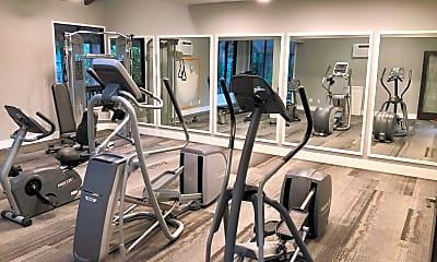 Fitness Weight Room, Duet, 2