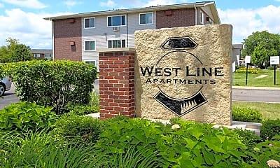 Community Signage, West Line Apartments, 2