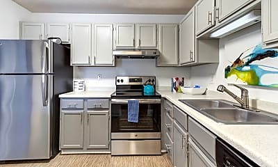 Kitchen, Twelve 501 Apartments, 1