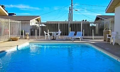 Pool, University Villas, 1