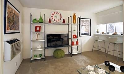 Living Room, Tribeca Apartments, 1