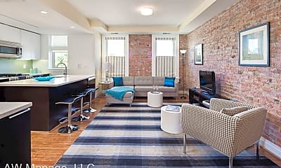 Living Room, 1801 Wyoming Ave NW Apt #23, 1