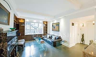 Living Room, 128 Central Park S, 0