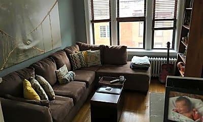 Living Room, 79 Madison St 4B, 1