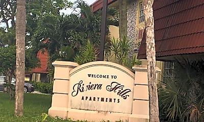 Riviera Hills Apartments, 1
