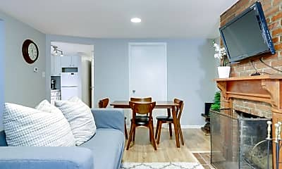Living Room, 1105 E St SE, 2