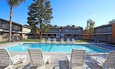 Pool, Valley Springs Apartments, 0