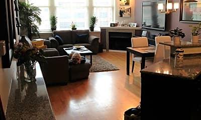 Living Room, 161 W Harrison St, 1