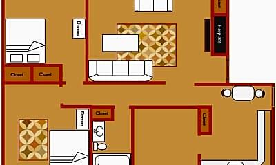 Bedroom, 205-07 Robert Dr, 2