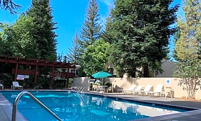 Pool, 2985 Linden Ln, 2