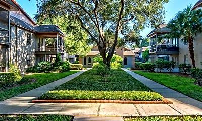 Courtyard, Regency Apartments, 0