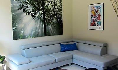 Living Room, Village Lofts, 1