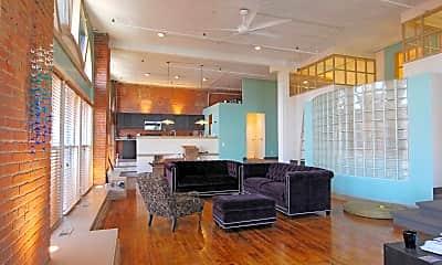 Living Room, The Bradley Building, 1