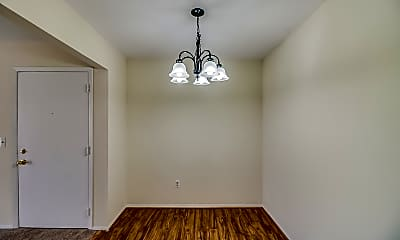 Dining Room, Wilderness Park Apartments, 2