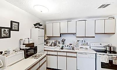 Kitchen, 365 Faneuil Street, Unit 12, 1