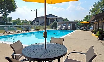 Pool, The Village at Crestview Apartments, 1