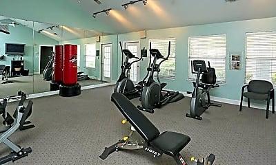 Fitness Weight Room, Ashford Club, 2
