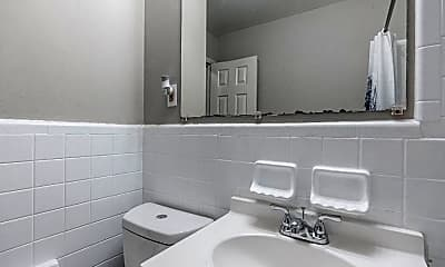 Bathroom, Room for Rent -  a 10 minute walk to bus 60, 0