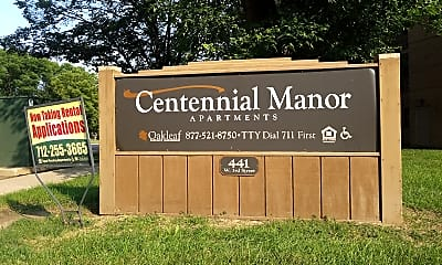 Centennial Manor Apartments, 1