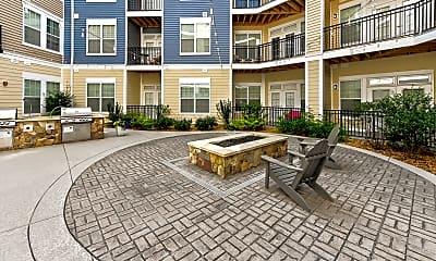Courtyard, Element at Stonebridge Apartments, 1