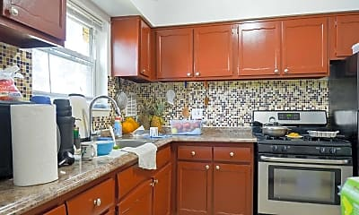 Kitchen, Grande Apartments, 1