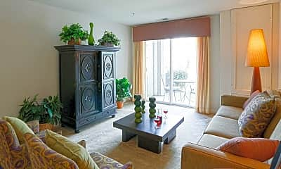 Living Room, Reserve at Stonegate, 1