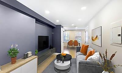 Living Room, 61 Joy Street, Unit 2, 0