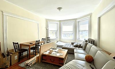 Living Room, 144 Coolidge St, 1