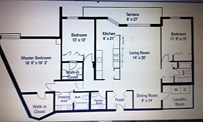 5450 floor plan.jpg, 5450 Astor Lane #313, 1