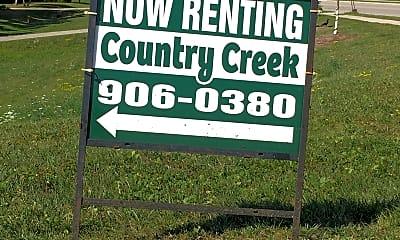 Country Creek Estates, 1