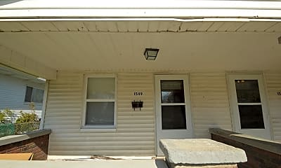 Patio / Deck, 1549 Villa Ave, 1