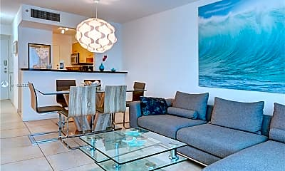 Living Room, 9195 Collins Ave 606, 0