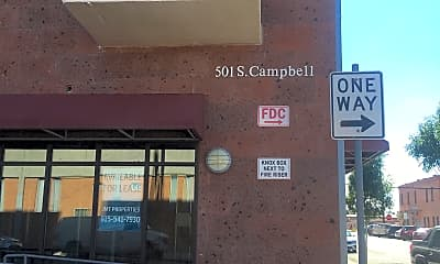 Campbell Apartments, 1