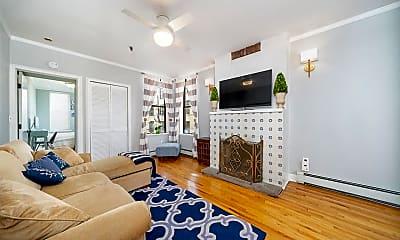 Living Room, 132 Madison St 2R, 1