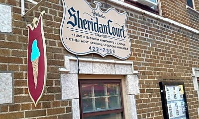 Sheridan Court Apartments, 1