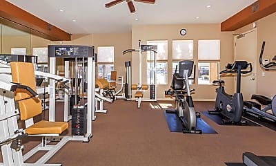 Fitness Weight Room, Cornerstone Apartments, 2