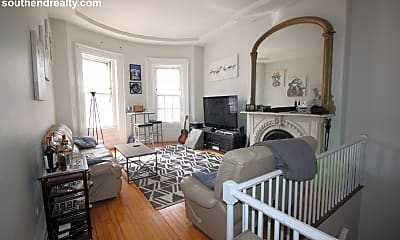 Living Room, 19 Concord Square, 0