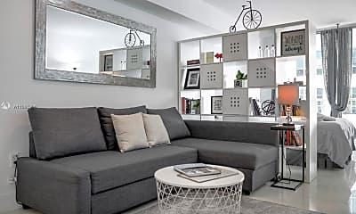 Living Room, 1200 Brickell Bay Dr 2110, 0