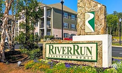 Community Signage, River Run, 1