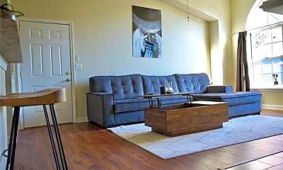 Living Room, 418 Delaware Ave 306, 1