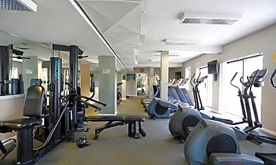 Fitness Weight Room, Clemens Place Apartments, 1