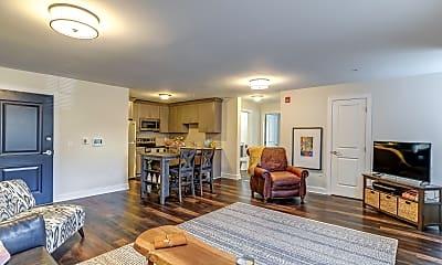 Living Room, 998 North Washington Ave Apartments, 1
